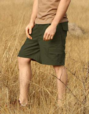 Safari Trousers & Shorts - Men's Savute Safari Cargo Shorts with Stretch